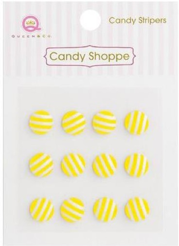 Candy Shoppe Stripers Lemon Drop
