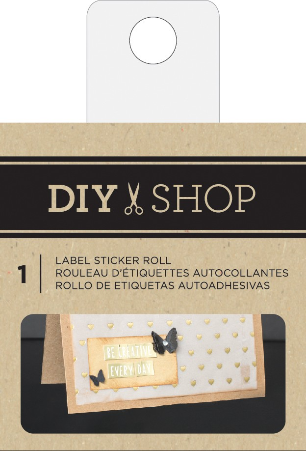 Label Sticker Roll DIY Shop 3