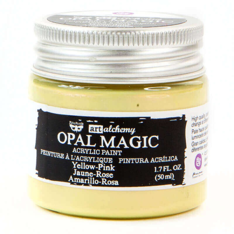 Pintura acrílica Opal Magic Art Alchemy Yellow/Pink