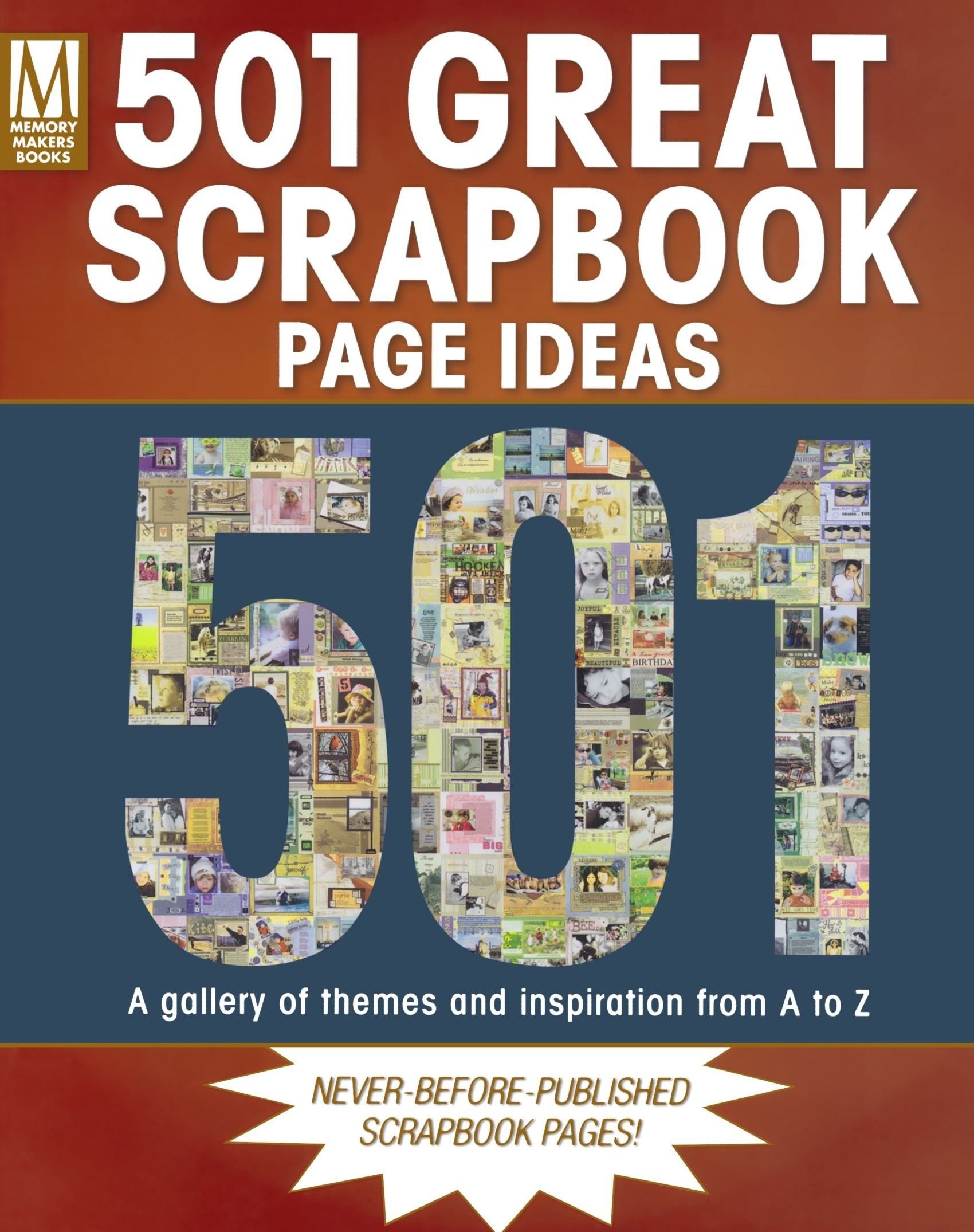 Scrapbook ideas and themes - Libro 501 Great Scrapbook Page Ideas