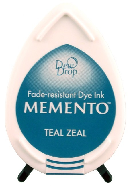 Tinta Memento Dew Drop Teal Zeal