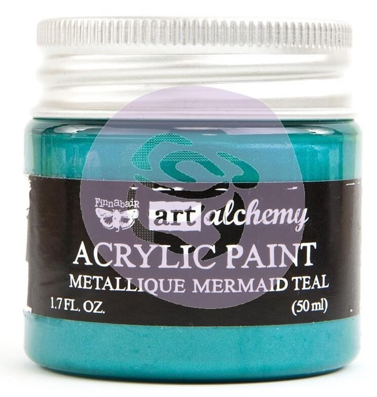 Pintura acrílica Art Alchemy - Metallique Mermaid Teal