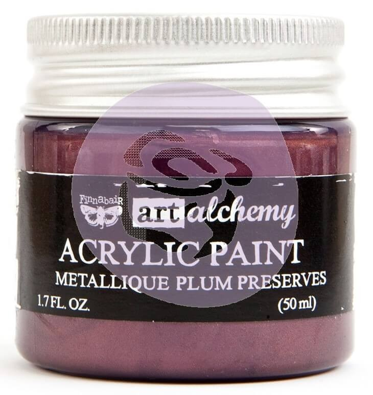 Pintura acrílica Art Alchemy - Metallique Plum Preserves