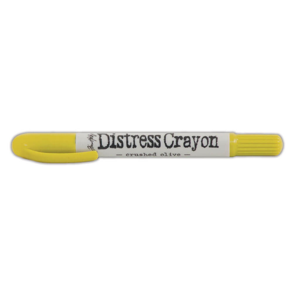 Distress Crayons Crushed Olive