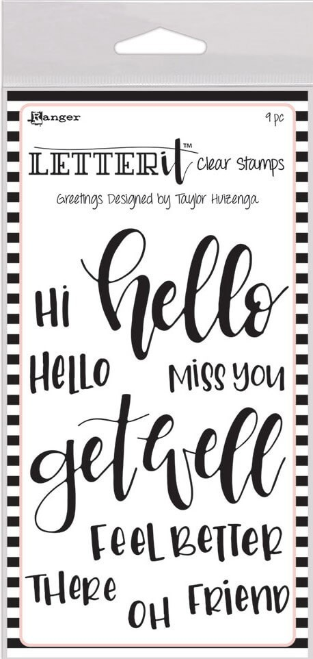 Sello Acrílico Letter It - Greetings