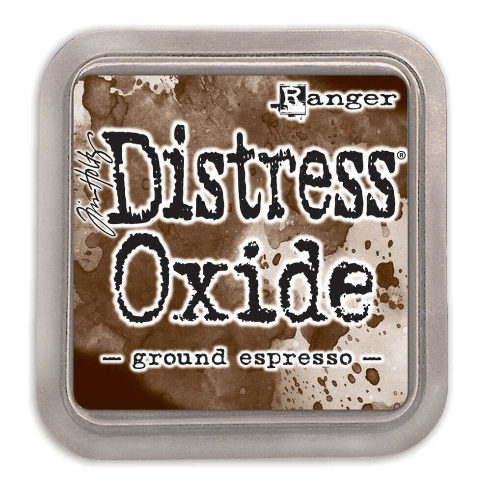 Tinta Distress Oxide Ink - Ground Espresso