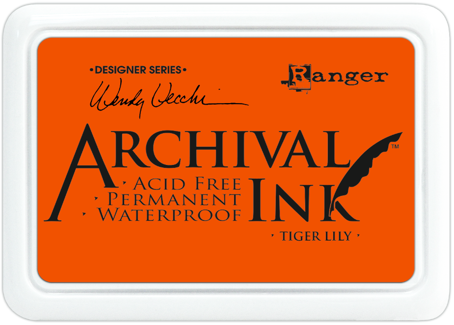 Tinta Archival Ink Tiger Lily
