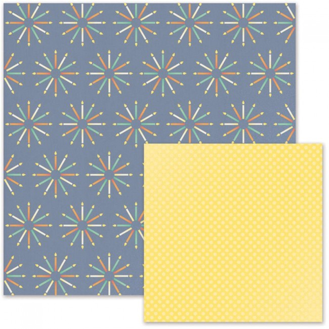 Papel estampado Doble cara 12x12-Cakes & Candles-Candles