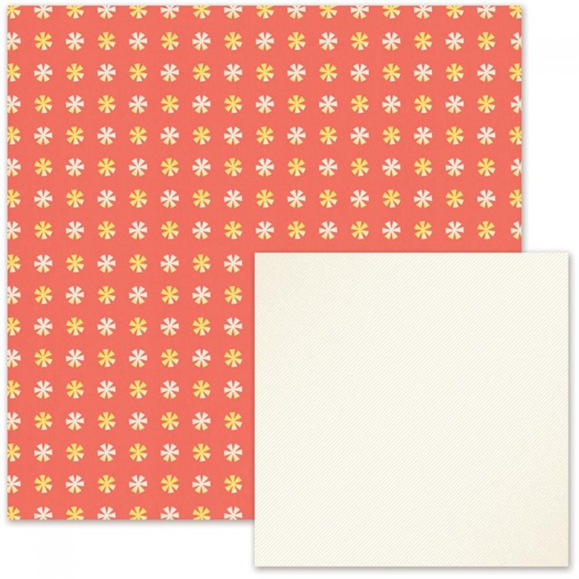 Papel estampado Doble cara 12x12-Cakes & Candles-Gift Wrap