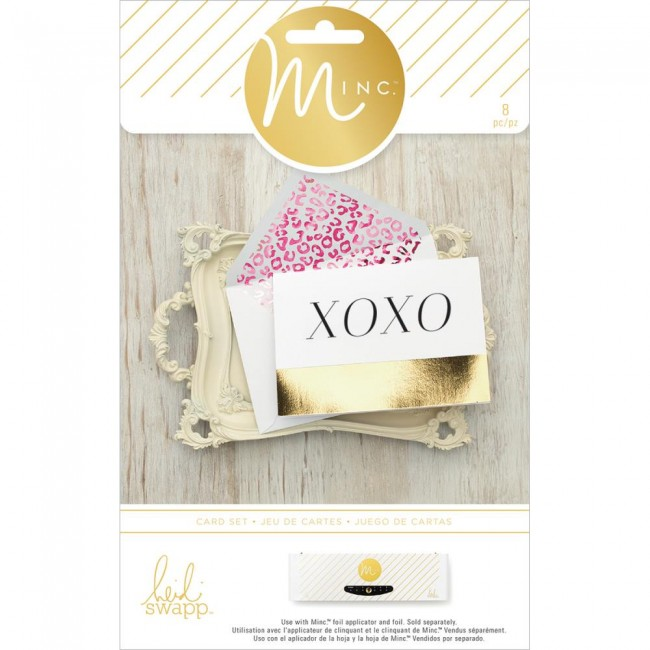 Minc Cards & Envelopes XOXO