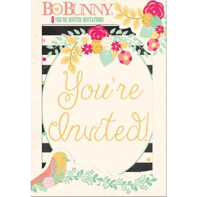 Invitaciones con sobre You're Invited
