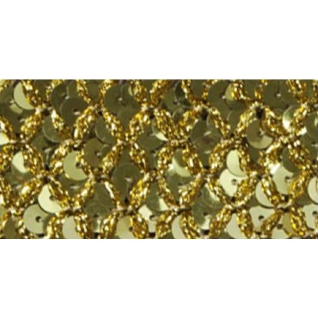 Gold Sequin Trim