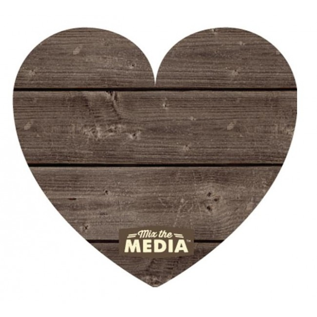 Heart Wood Plank Mix The Media