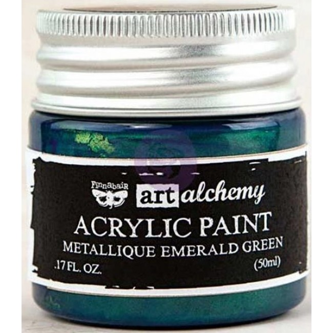 Pintura acrílica Metallique   Emerald Green