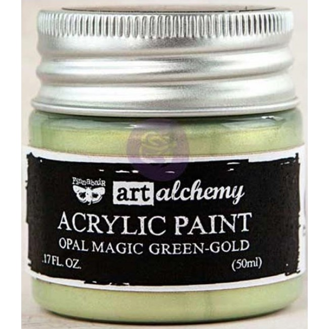 Pintura acrílica Opal Magic   Green/Gold