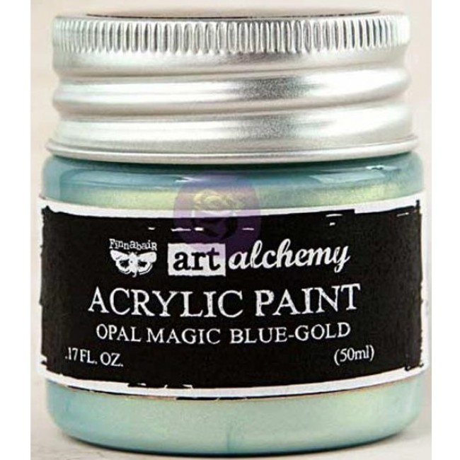 Pintura acrílica Opal Magic   Blue/Gold