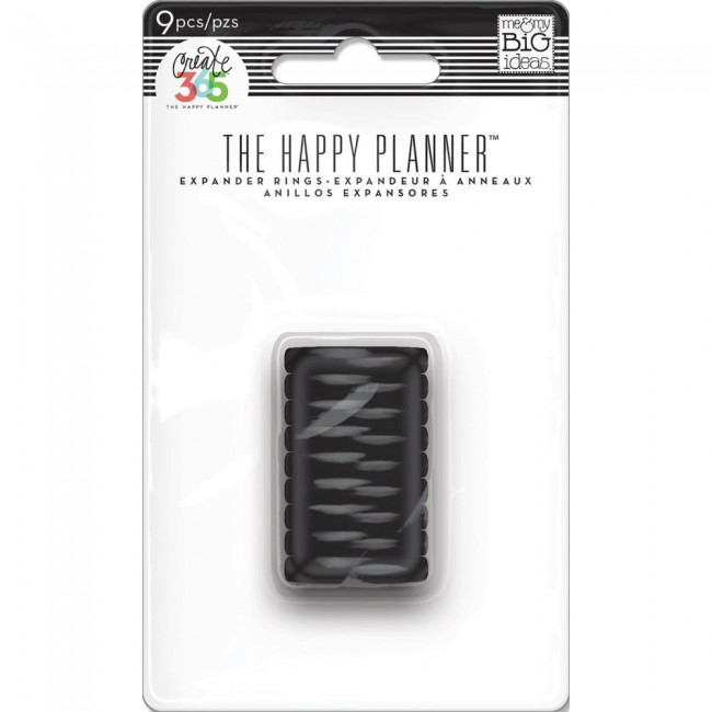 Anillas Happy Planner Mini Black
