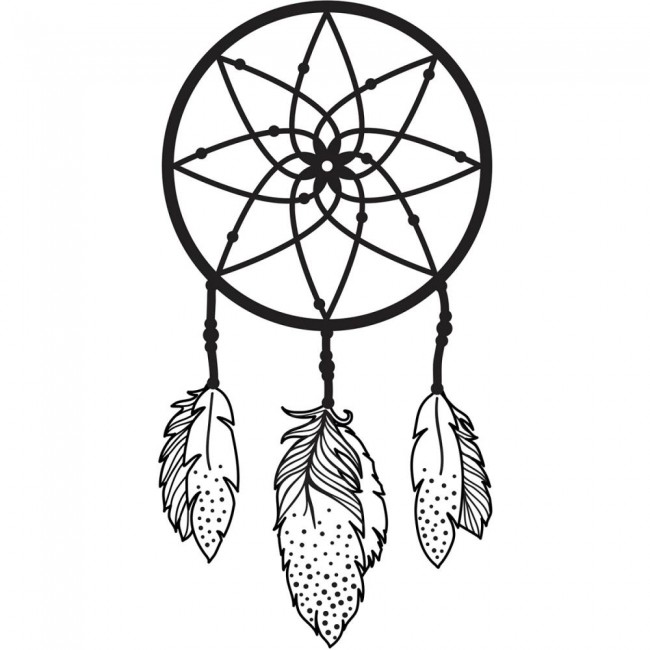 Carpeta de embossing Dreamcatcher