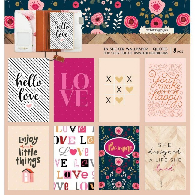 Pegatinas Love Is In The Air Wallpaper 3.5 x 5.5 Love Quotes