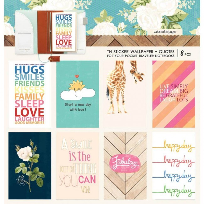 Pegatinas Changing Colors Wallpaper 3.5 x 5.5 Colors Quotes