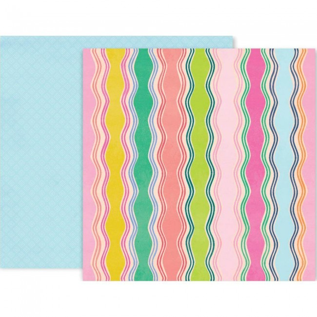 Papel Estampado Doble Cara 12x12 Horizon #8
