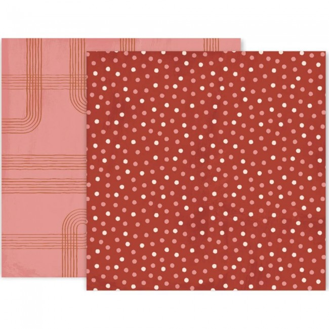 Papel Estampado Doble Cara 12x12 Again & Again #3