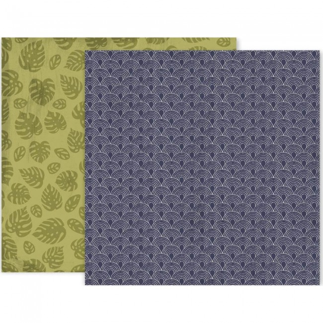 Papel Estampado Doble Cara 12x12 Again & Again #7