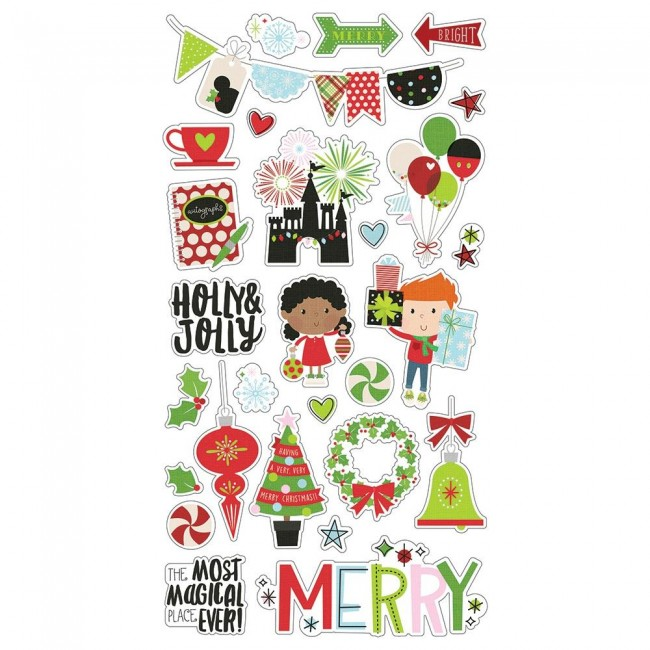 Chipboard 6x12 Say Cheese Christmas