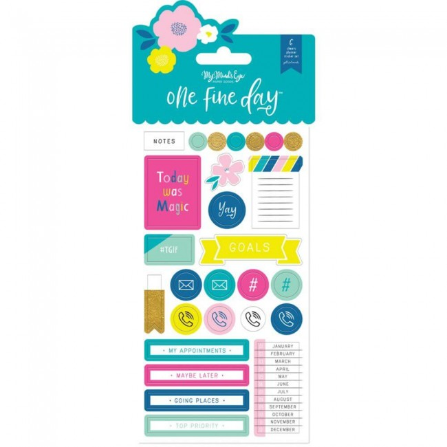 Pegatinas Planner One Fine Day