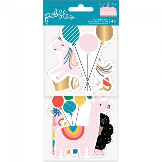 Die Cuts Happy Cake Day Icons