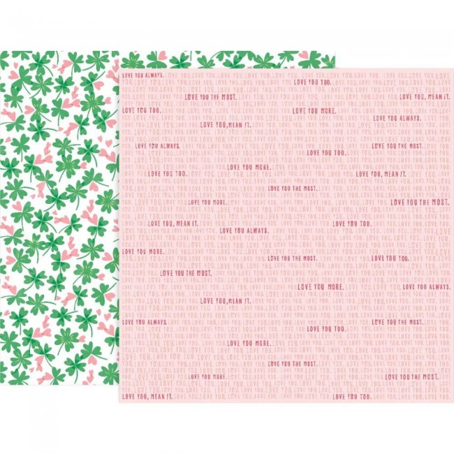 Papel Estampado Doble Cara 12x12 Lucky Us #7