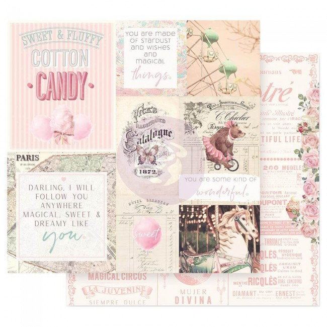 Papel Estampado Doble Cara 12x12 Dulce Some Kind Of Wonderful