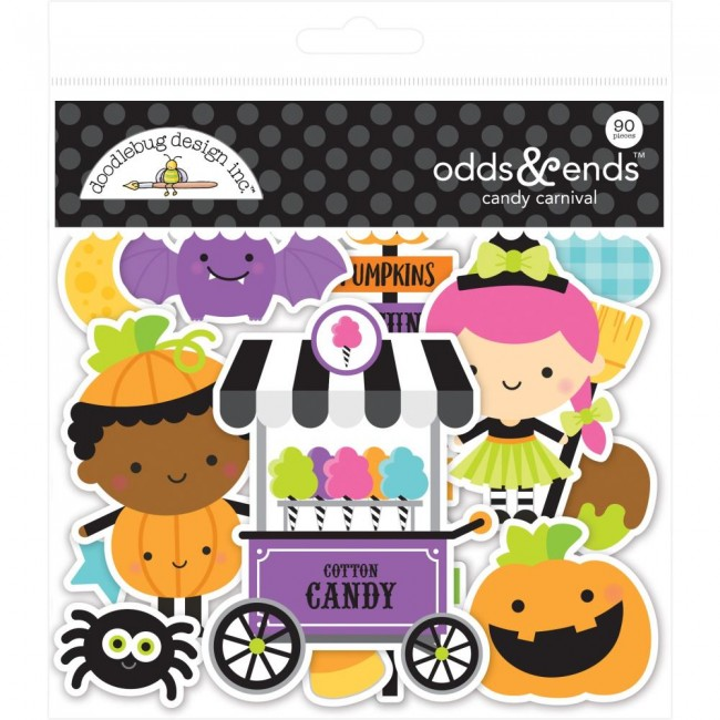 Die Cuts Candy Carnival Odds & Ends