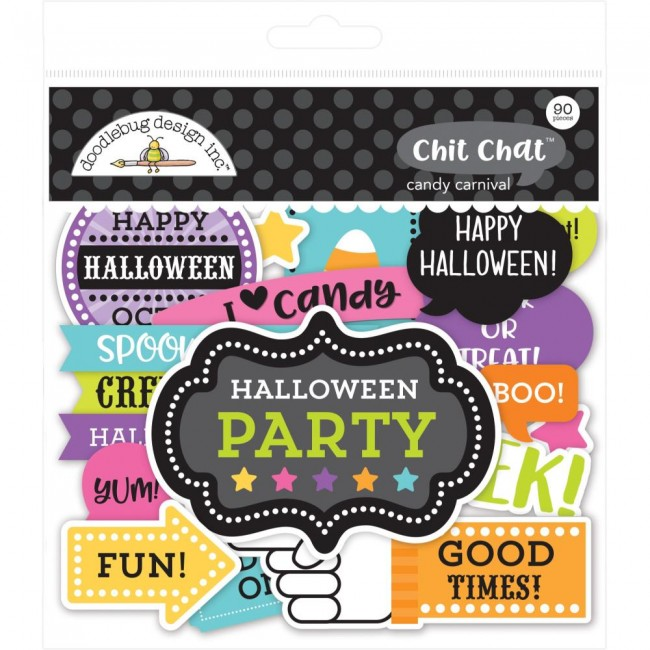 Die Cuts Candy Carnival Odds & Ends Chit Chat