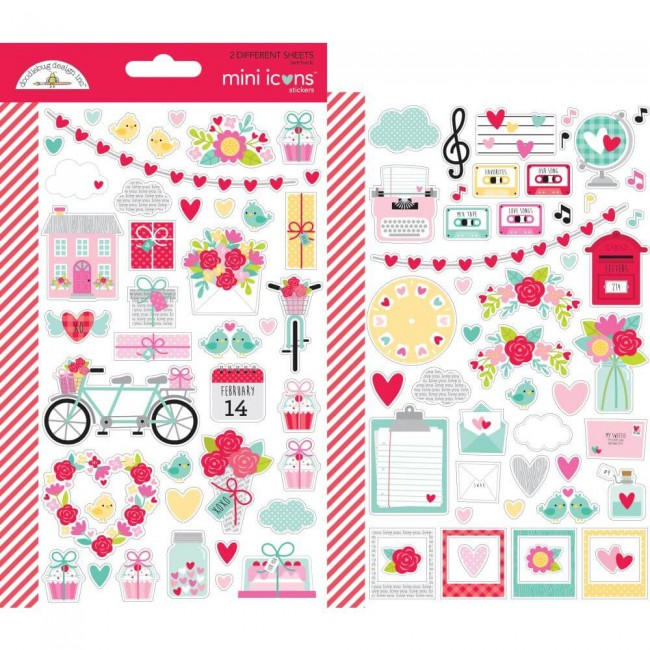 Pegatinas Love Notes Mini Icons