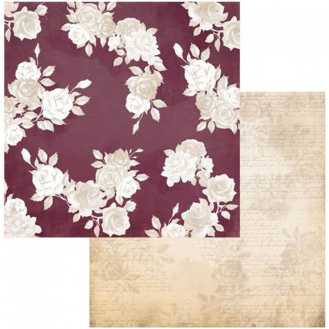 Papel Estampado Doble Cara 12x12 Garden Grove Remember