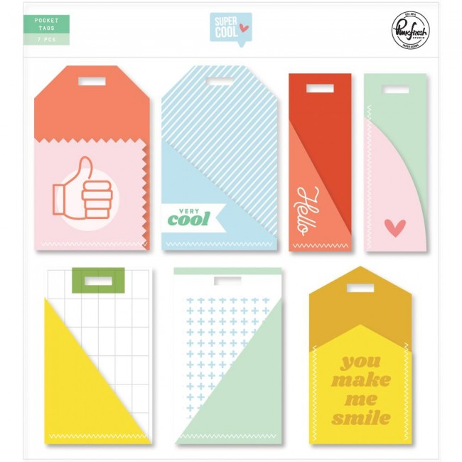 Die Cuts Super Cool Journaling Pockets