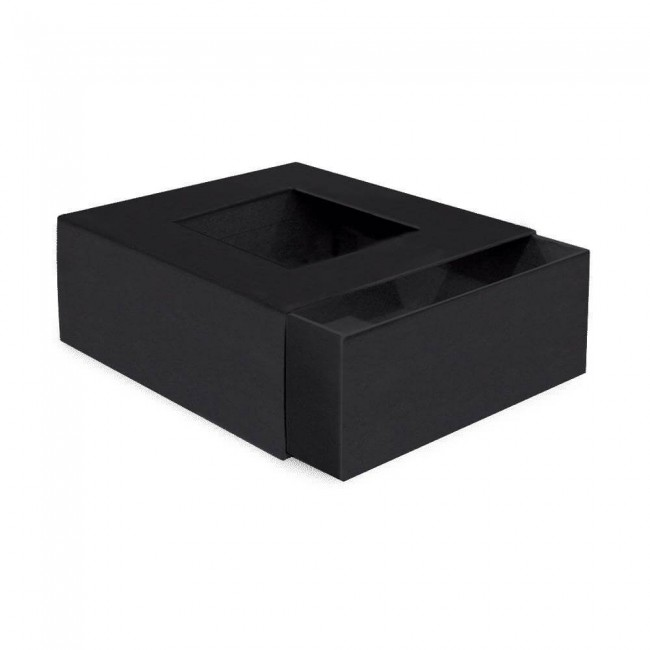 Caja Álbum Chipboard Staples ATC Matchbook Black