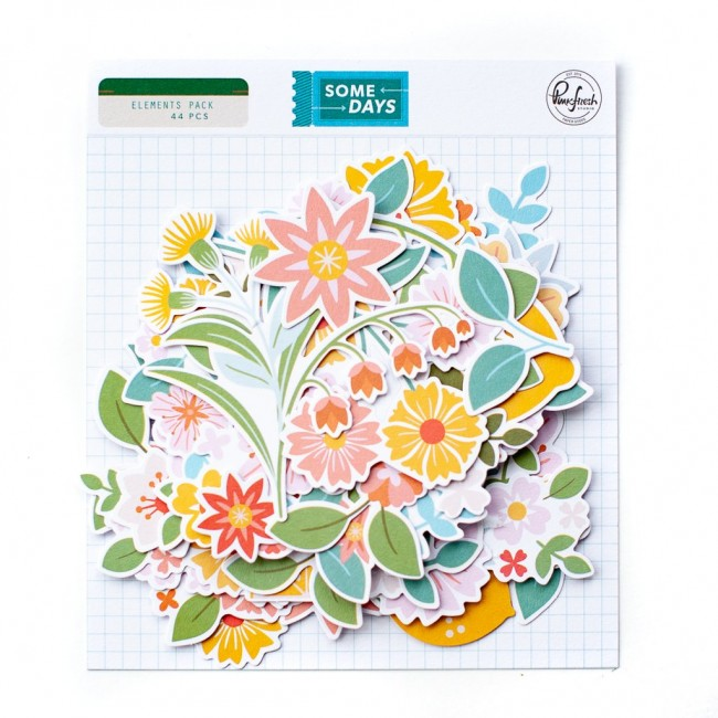Die Cuts Some Days Floral