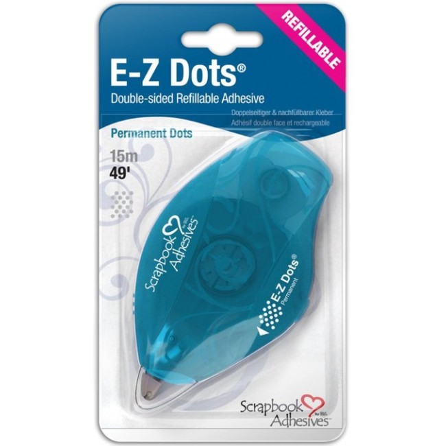 Cinta doble cara  E-Z Runner Dots Permanente Recargable