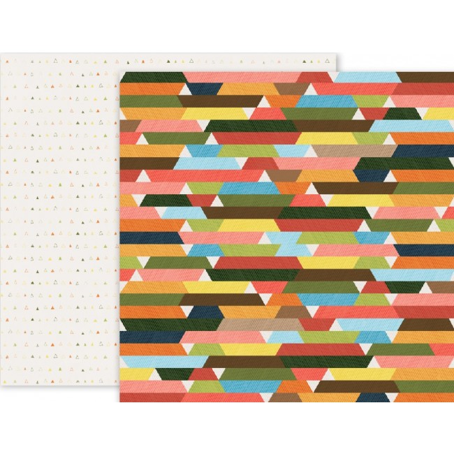 Papel estampado Doble cara 12x12 Outfitters 08 Outfitters