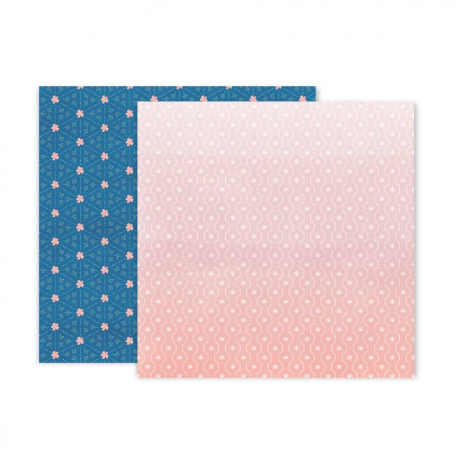 Papel Estampado Doble Cara 12x12 Truly Grateful Paige Evans Paper 18