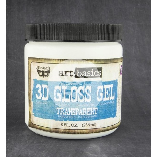 Transfer Gel 3D Gloss Gel 8 oz