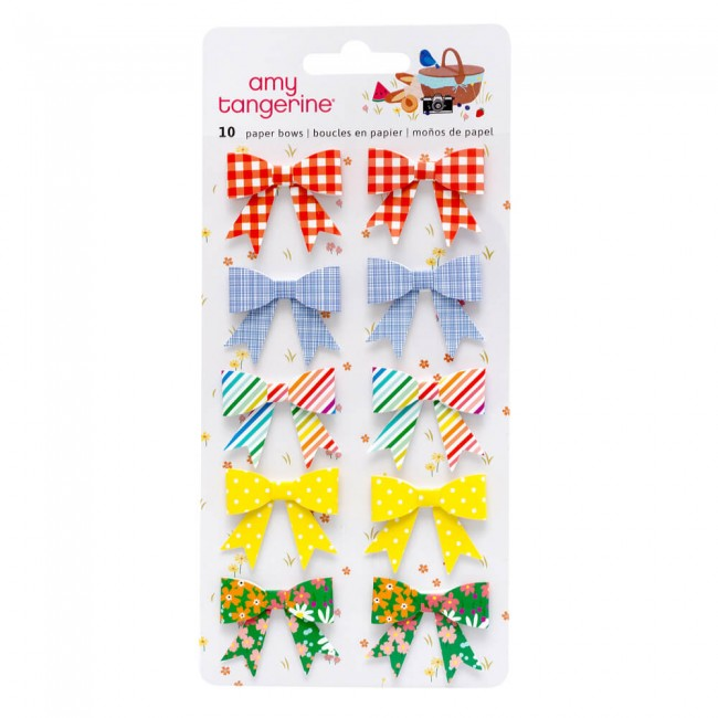 Set de Lazos de Papel Picnic In The Park Amy Tangerine