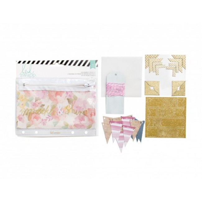 Sparkle & Shine Flea Market Pouch Kit