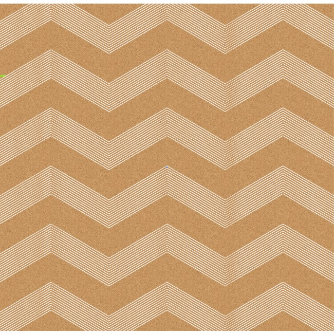 Papel estampado Una cara 12x12-DIY Shop 3-White Chevron