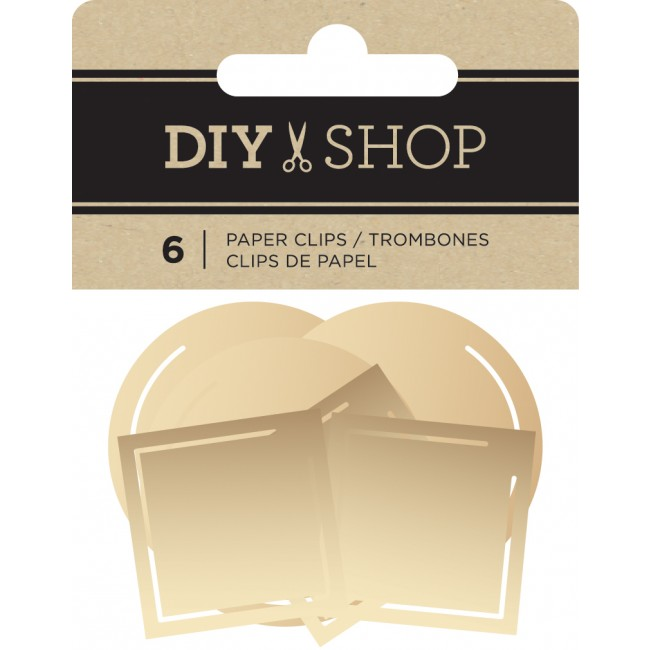 Clips Gold Paper DIY Shop 3