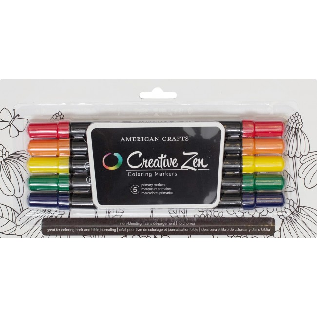 Primary Creative Zen Coloring Markers