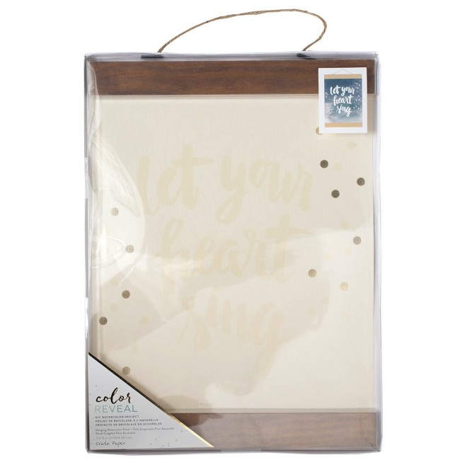 Panel Colgable 11x15 Color Reveal - Let Your Heart Sing -30% DESCUENTO