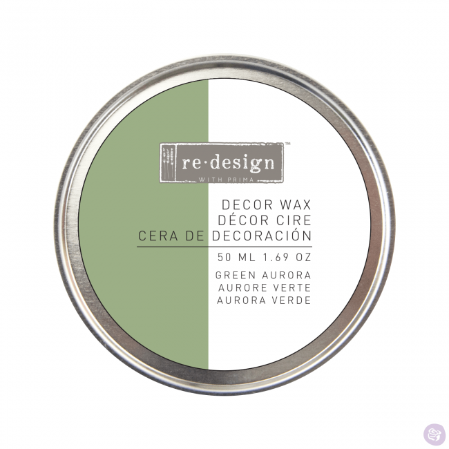 Cera de decoración Re-Design Green Aurora